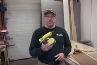 Ryobi P305 18v Cordless Hot Glue Gun
