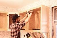 Installing Cabinets Solo