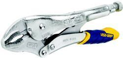 Vise SquadTHE STANDARD VISE-GRIP, A FIXTURE IN EVERY TOOL-BOX for years, has been updated. The new FastRelease tool offers easier opening—twice as fast as old models, the manufacturer says. Moreover, the no-trigger design means there's more room to accommodate larger hands. Cost: $9.50 to $26.50. Irwin Industrial Tool Co. 800-464-7946. www.irwin.com. Circle no. 106.