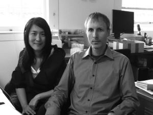 Lisa Iwamoto and Craig Scott