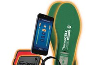 Control ThermaCELL Heated Insoles and Heat Packs with Your Smartphone