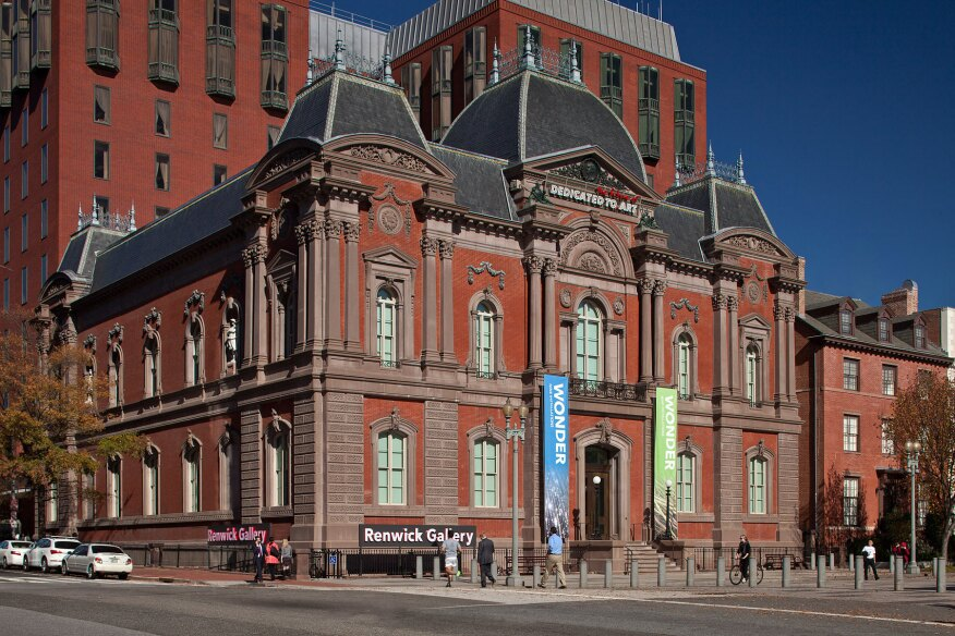 The Renwick Gallery after its multi-year renovation.