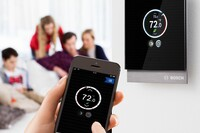 Bosch Offers Smart Room Thermostat for Condensing Boilers