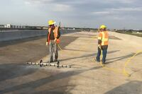 Concrete protection and preservation using penetrating sealers