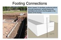 Connecting Footings