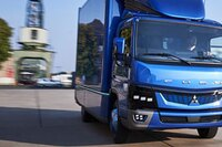 All-Electric Medium-duty Truck from Fuso