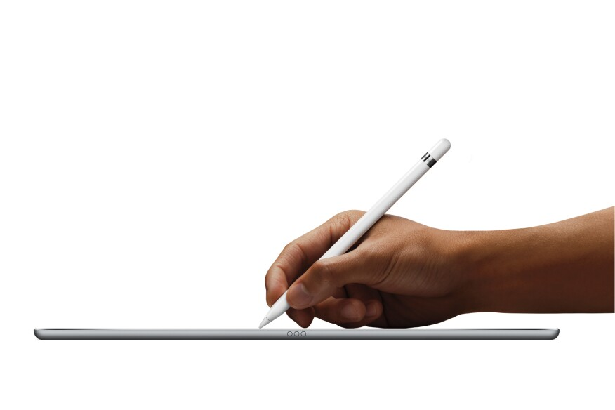 Apple's new stylus, Pencil, is designed for use with the company's forthcoming iPad Pro.