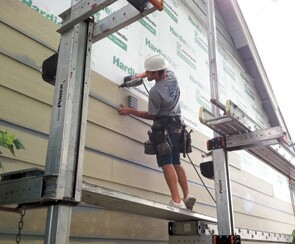 A one man/one wall system of installing siding helped Lakeside Exteriors, in Missouri, produce jobs more efficiently.
