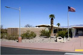 Furnace Creek Visitor Center at Death Valley National Park
