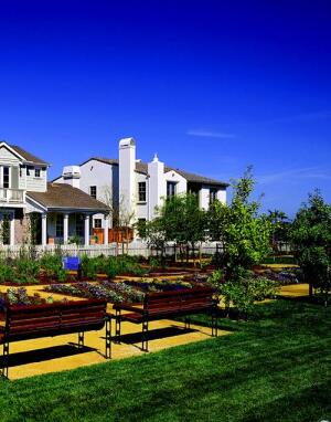 PARK VIEWS: Diversity marks The Cove Collection from Santa Ana, Calif.–based William Hezmalhalch Architects. There are four plans available, each in three different elevations (Traditional, Santa Barbara, Italian), totaling 12 different looks. The homes offer up to five bedrooms and range in size from 2,357 to 3,173 square feet.