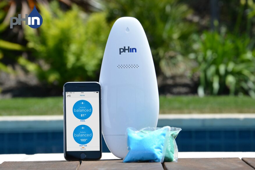 Phin introduces mobile app for pool maintenance pool How to maintain swimming pool water quality