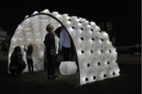 A 3D-Printed Pavilion Illuminates the Sun's Path