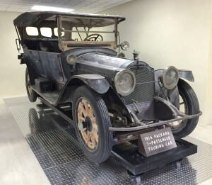 Unlike the 2015 Ford F-150, the 1914 Packard Touring Car was produced in small numbers, but it did have an aluminum body (everything except the fenders). This unrestored vehicle is on display at the visitor's center at Scotty's Castle in Death Valley, CA.