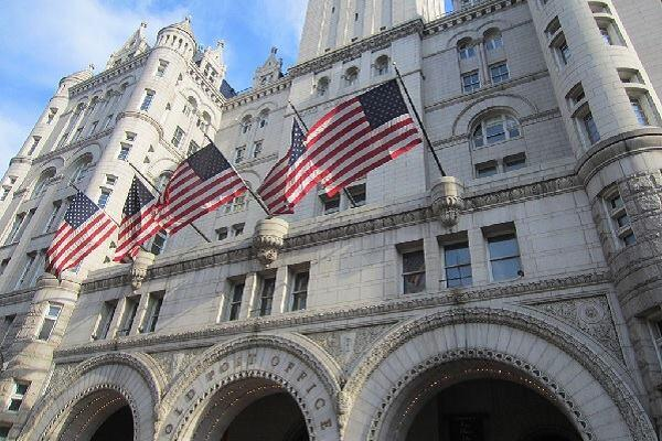 Donald Trump is planning a $200 million redevelopment of The Old Post Office Pavillion in Washington, D.C., an iconic Pennsylvania Avenue landmark. Built in 1899, the post office will be converted into a luxury hotel.