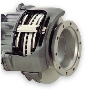 The Meritor ES22525 heavy-duty air disc brake.