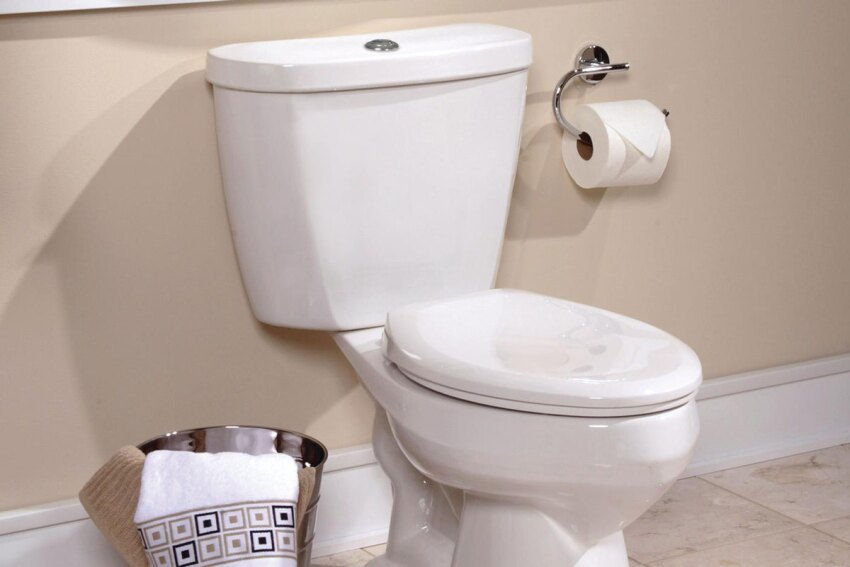 High Point: Mansfield Summit Dual-Flush Toilet