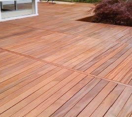 Figure 7b. A deck brightener was used to remove most of the gray and even out the wood's tone, then a semi-transparent stain brought life back to the wood with a rich color, adding protection from the sun's UV rays. Photo by TWP.