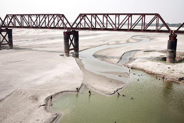 """Ganges, Death of a River, 1"". Shortlist: Landscape, Professional Competition."