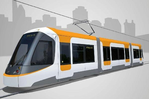 Washington, D.C.-based railway manufacturer CAF USA created renderings of the Cincinnati streetcar.