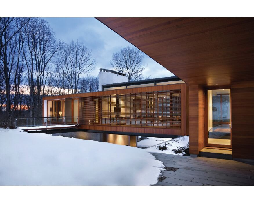 2013 RADA / Custom / More Than 3,000 Square Feet / Merit Award: Bridge House, Kent, Conn / Joeb Moore & Partners Architects