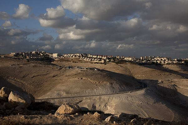 The West Bank Israeli settlement of Maale Adumim, near Jerusalem.