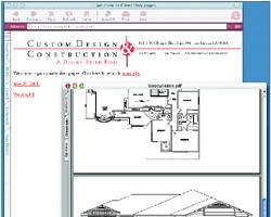 Clients View Design Work Online Through Company Web portal