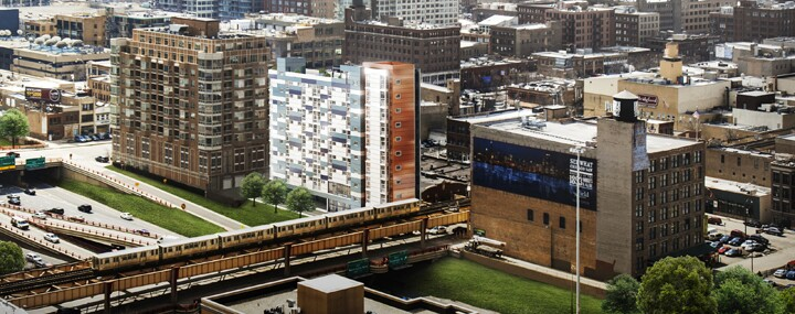 LIHTC-financed Micro-unit Building Under Way in Chicago