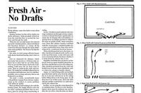 Fresh Air, No Drafts