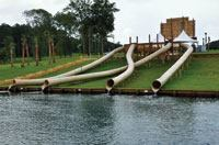 Hillside Water Slides from Mason Corp.