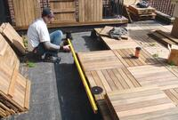 Replacing a Rooftop Deck