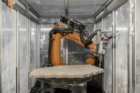 Robots Prefab a Timber Shell in Germany