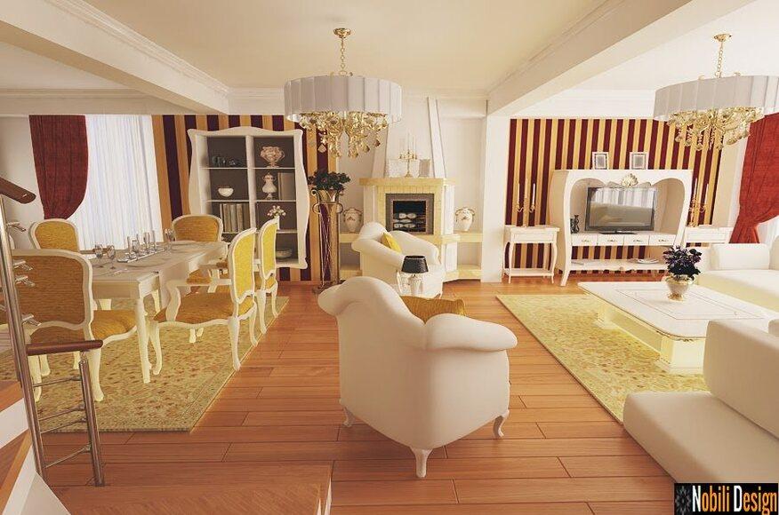 Design Interior Living Open Space Ameanajari Interioare Case