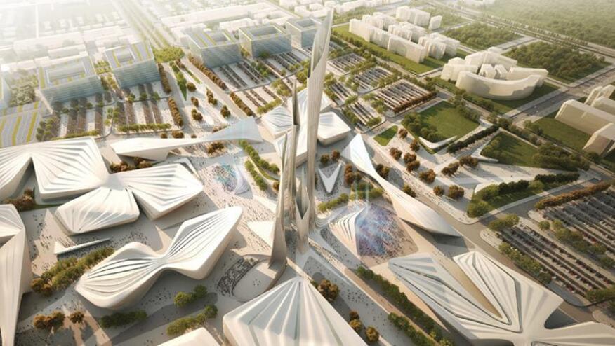 Zaha Hadid Architects design for Expo 2017