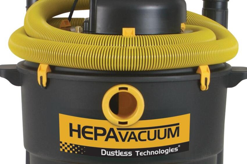 Dustless Technologies HEPA Wet/Dry Vacuum System