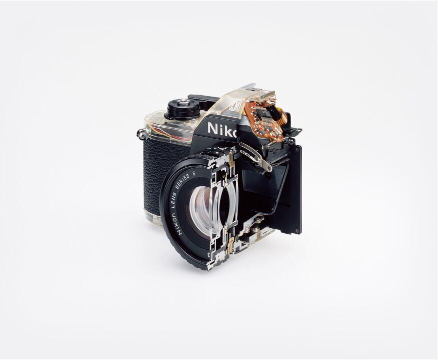"Christopher Williams, ""Cutaway model Nikon EM..."""