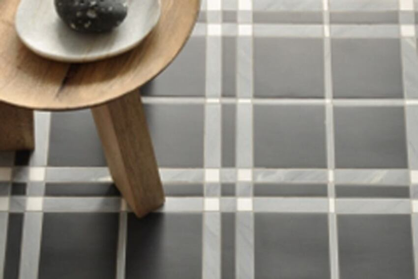 New Ravenna's Plaid-Patterned Tiles