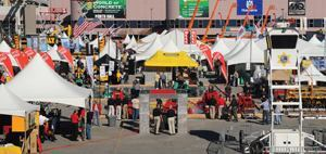 The weather was ideal to spend time at World of Concrete's outdoor exhibits and events.