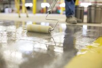 Epoxy Primer Inhibits Moisture Vapor Emissions On New and Existing Concrete Floors