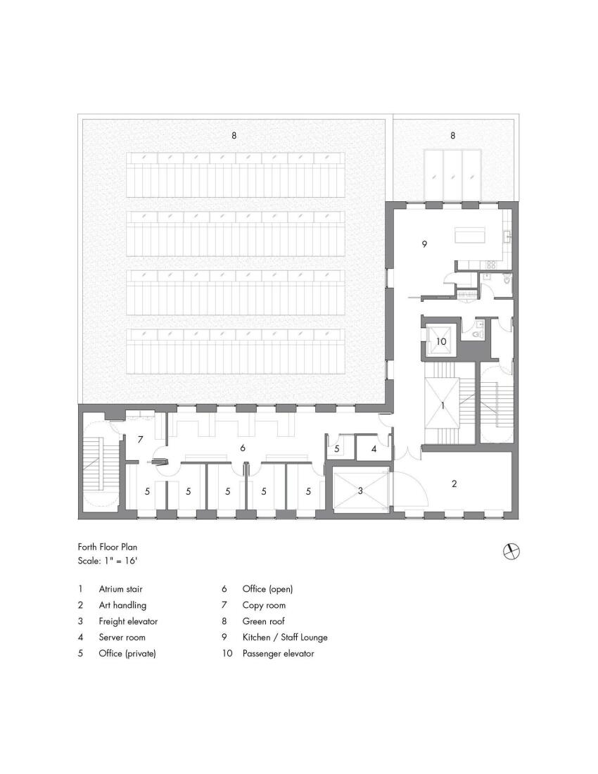 Fourth-Floor Plan