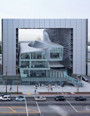 Morphosis Architects' Los Angeles campus for Emerson College was among the winning projects for Bentley Systems' eighth-annual Be Inspired infrastructure awards.