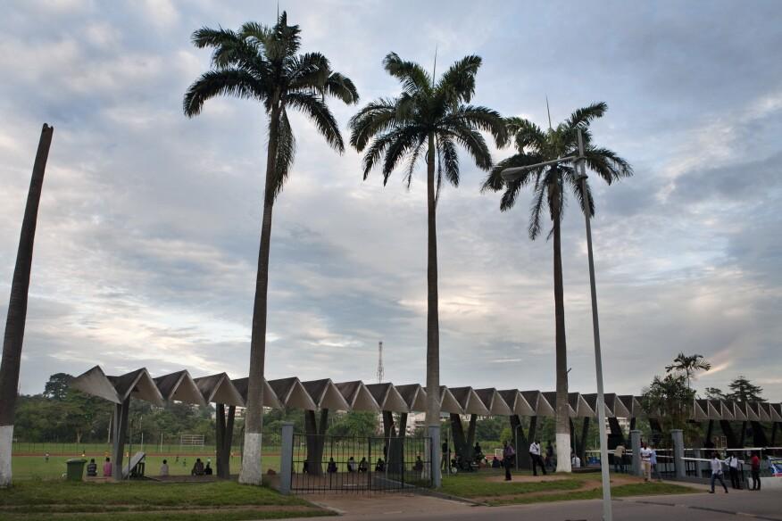 Stadium at KNUST (1964–67) in Kumasi, by KNUST Development Office