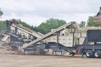 Portable Impactor and Screen Plant from Terex Minerals
