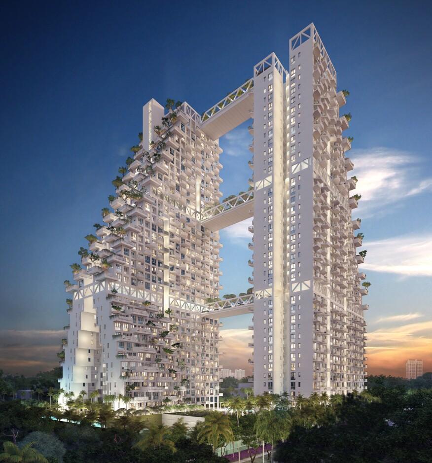 Sky Habitat in Singapore