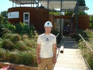 Cornell University team leader Chris Werner says the team's silo-inspired Solar Decathlon house was an attempt to shake up the competition.