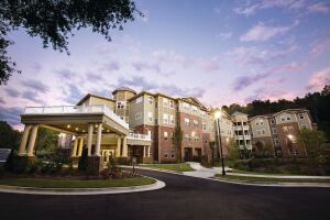 The 101-unit Manor at Scott's Crossing in Atlanta serves seniors earning no more than 50 percent and 60 percent of the area median income.