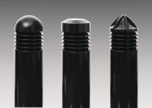 The LL-313/314/315 family of low-level outdoor pathway bollards from Allscape is designed for commercial and residential use, including entryways, walkways, woodland paths, gardens, and parks, as well as on pedestrian bridges and in tunnels. The fixtures have no visible hardware or sharp edges, and their lenses are surrounded by four body-colored no-glare light louvers that also serve as trim rings. The bollards housings are constructed of sand-cast aluminum tops and die-cast aluminum light louvers, and their columns are extruded aluminum. Two ballasts are available: one for HID lamps and one for 26W, 32W, or 42W compact fluorescents. Finish options include black, bronze, and white. alllighting.com