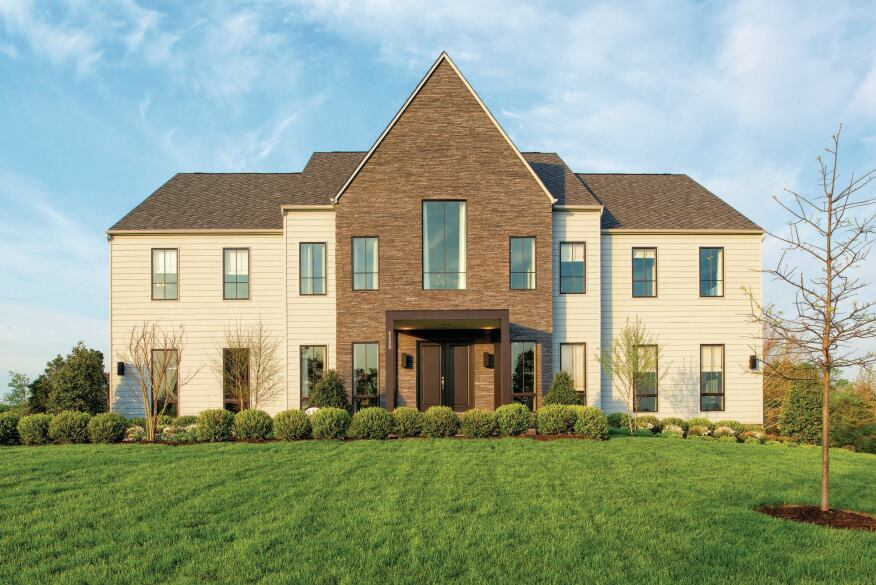 Bigger Sells: K. Hovanian Homes popular Line K Homes at Willowsford in Loudoun County, Va., go up to 5,458 square feet.