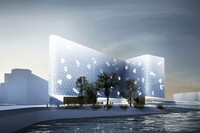 Snøhetta's Sea Ice Hotel Proposal Wins Competition