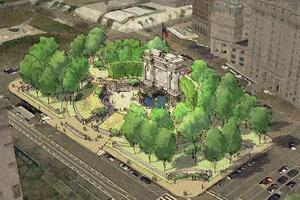 World War One Memorial Concept