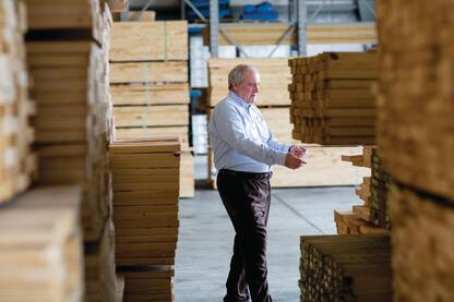 It All Adds Up: The extra work that Leonard Safrit puts into compiling and analyzing data  combines with his decades of experience and concern for people to make Safrit's Building Supply of Beaufort, N.C., and its affiliates the 2013 ProSales Dealer of the Year.